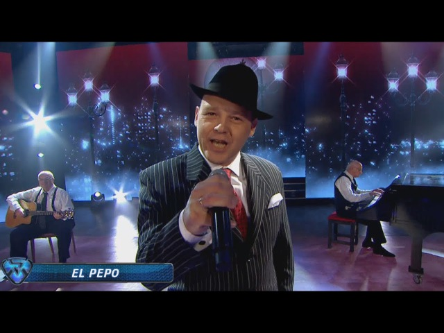 El Pepo sorprendió a todos cantando el tango El sueño del pibe