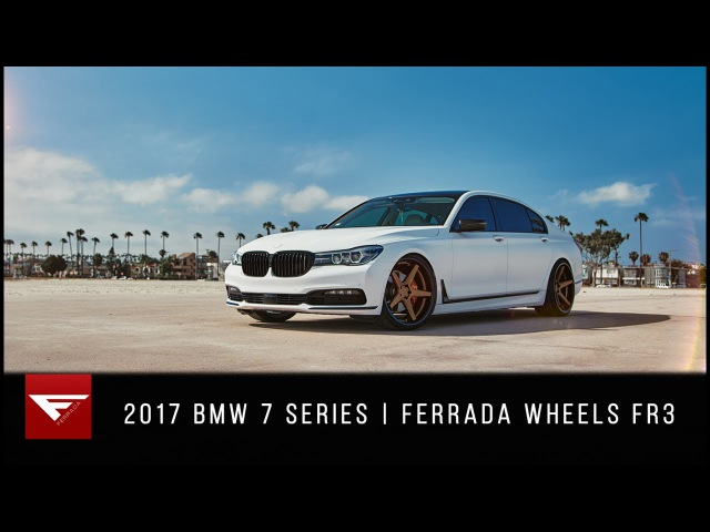 2017 BMW 7 Series Beach Day Ferrada Wheels FR3