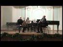 Trio in A Major for Clarinet Viola Piano Op 264 part 2