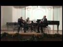 Trio in A Major for Clarinet Viola Piano Op 264 part 1