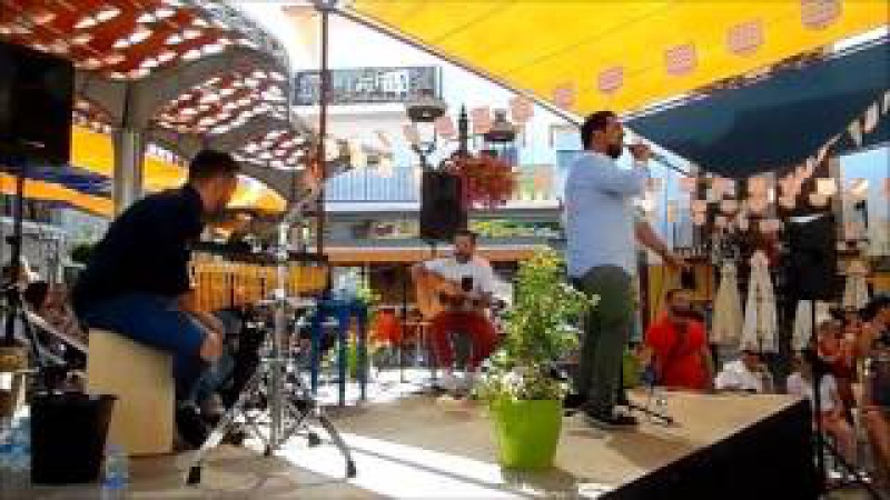 Feria ALHAURIN de la TORRE 2017, canciones populares espanolas, Amigos para siempre, 24/06
