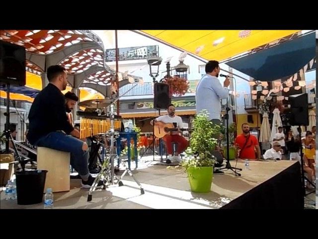 Canciones populares espanolas, cante andaluz, Feria ALHAURIN de la TORRE 2017, 24/06