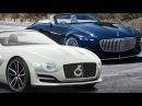 2019 Vision Mercedes Maybach 6 Cabriolet Vs Bentley EXP 12 Speed 6e ► New Era of Ultra Luxury