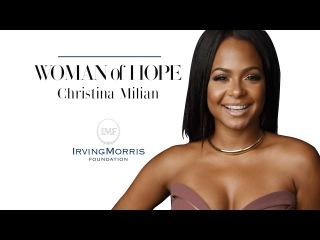 Christina Milian - Woman of HOPE - IrvingMorris Foundation