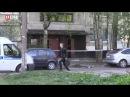 Мужчина угрожает взорвать гранату. Санкт- Петербург