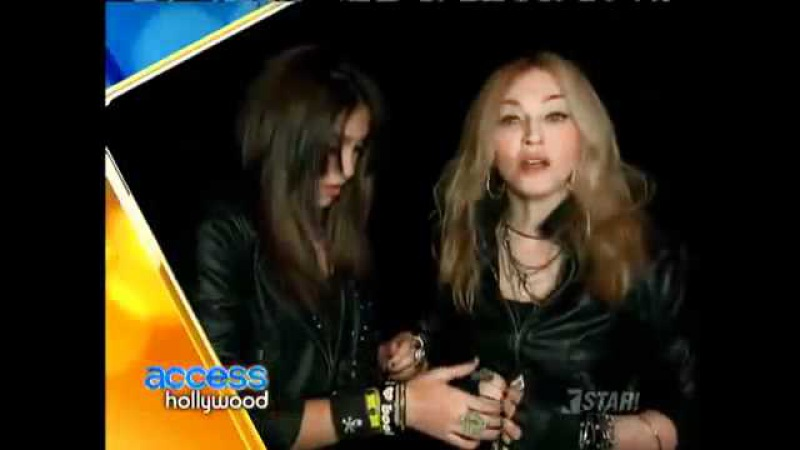 Access Hollywood : Madonna Lourdes Material Girl Launch
