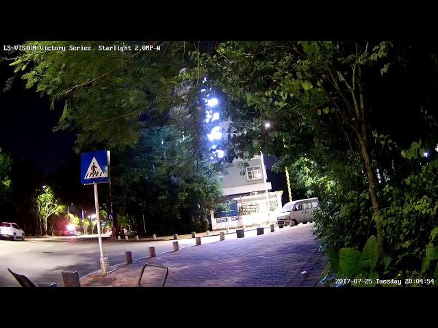 LS VISION Victory Series 2MP 1080P Full HD Starlight Surveillance IP Camera Video