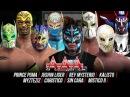 Triplemania 2K17: Rey Mysterio vs Sin cara vs Mistico vs Myzteziz vs Caristico vs Kalisto vs Puma