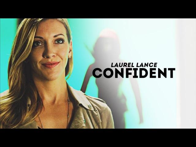 Laurel Lance   Confident