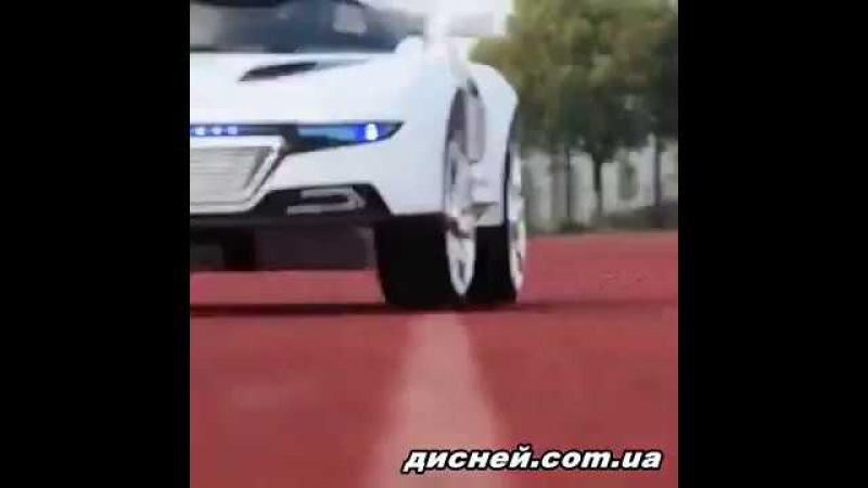 Детский электромобиль T-766 WHITE, Audi, белый - дисней.com.ua