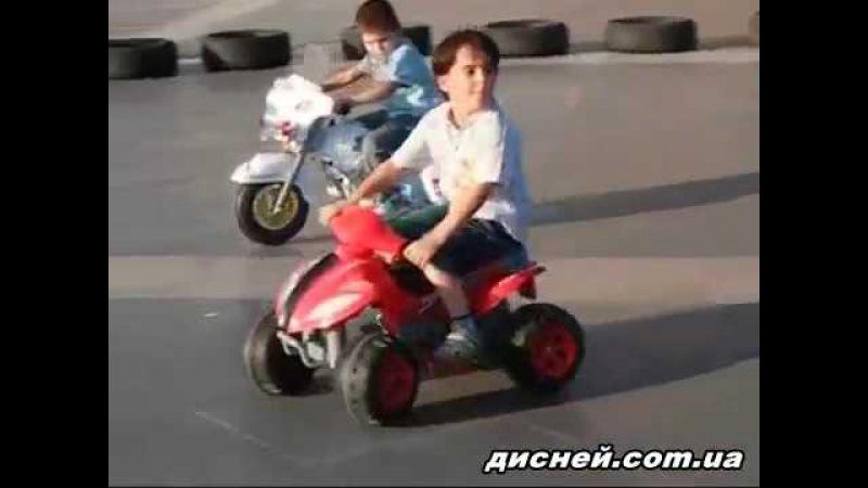 Детский электромобиль T-734 BLACK квадроцикл, черный - дисней.com.ua