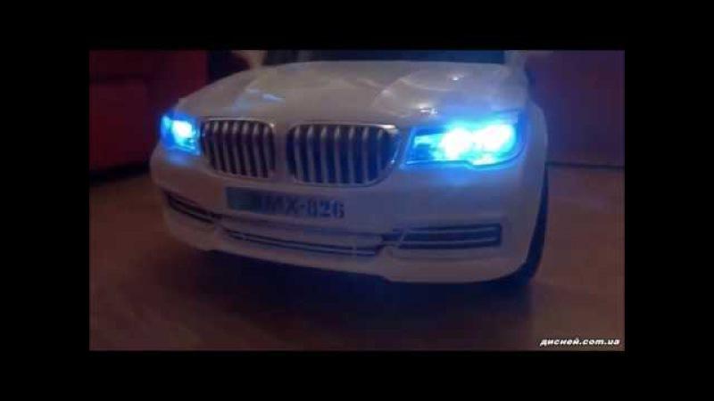 Детский электромобиль T-7612 WHITE, BMW, белый - дисней.com.ua