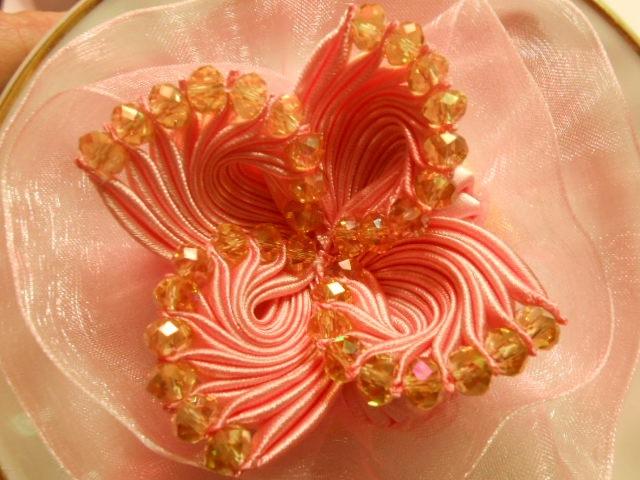 Бант,фантазийный цветок МК DIY. Bow, flower fantasy