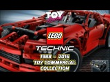 Lego Technic Toy Commercial Collection 1988 - 2016