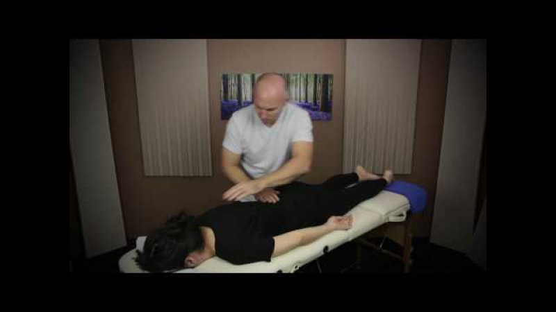 Back Massage for Visual Relaxation ASMR