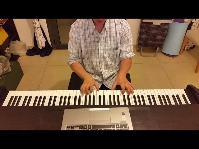Владимир Высоцкий на пианино Кони привередливые (Чуть помедленнее, кони) кавер