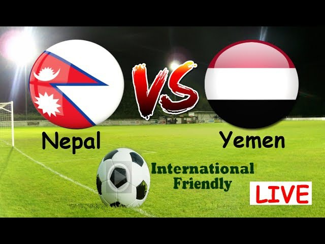 Nepal vs Yemen | Live | Asian Cup Qualification | 13 June 2017