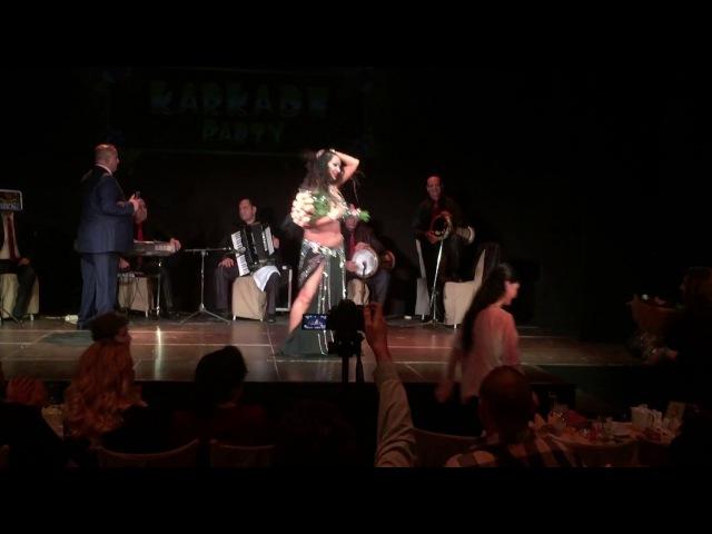 Nino Muchaidze | Karkade Party Aida Hassan/ Safaa Farid - Min hob fik ya ghari with Taht il Shabak