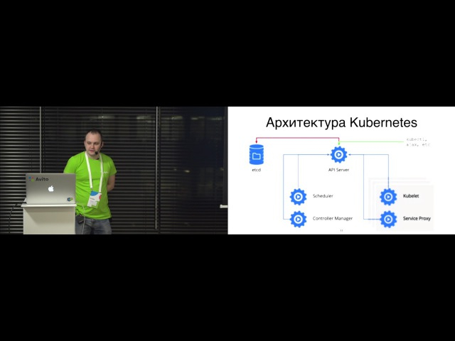 Kubernetes в Avito - Евгений Ольков (DevOps-инженер, Avito)