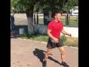 Тренировка бойца М-1 Андрея Лежнева, Украина
