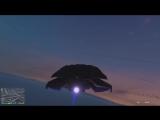 Полет на Марс в ГТА5 - Эксперимент