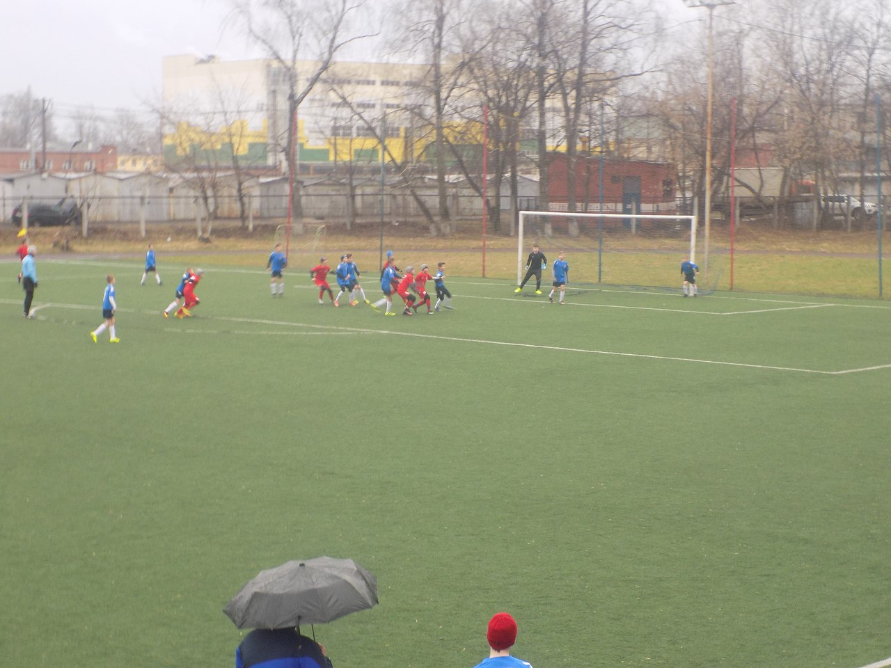 Команды ДЮСШ «Витязь» 2004 и 2005 г.р. во 2 туре Первенства России одержали две победы