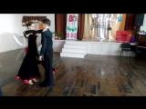 Выступление на конкурс Зимняя симфония-румба,Артём и Валерия.Называется танец
