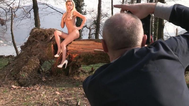 Claudio Taiana present making of model Dasha 2012