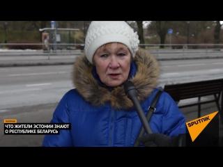 Что жители Эстонии знают о Беларуси: президент, чистота и свобода слова