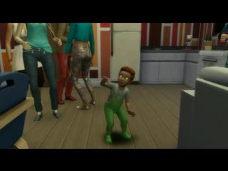 Танец малыша Дуэйна. Династия Ирвинг (без обработки)