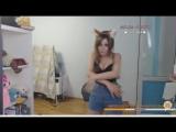 Кристина Финк - Дикие Танцы на Стриме