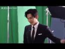 Yang Yang Didi Dache BTS 杨洋 滴滴五大安全科技 片场舞蹈花絮