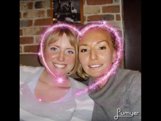 With my Sis Emma Fenwick