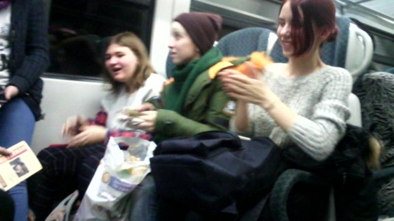 BTD в поезде (ч. 1)
