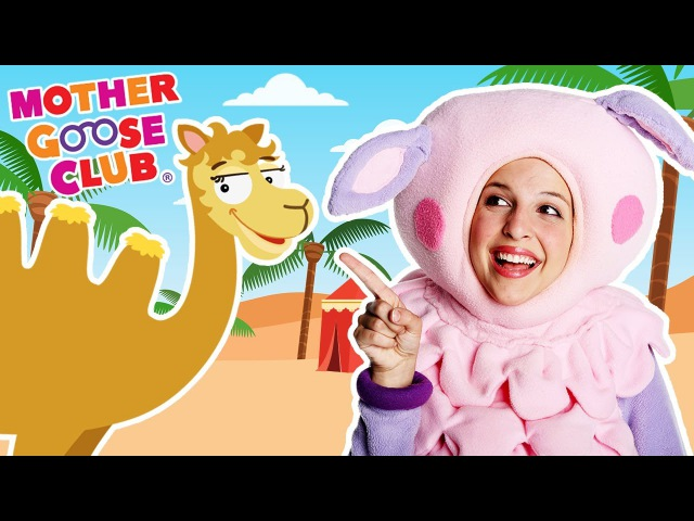 Alice the Camel Funny Animal Counting Game Mother Goose Club Songs for Children