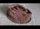 снуд Мебиус крючком резинкой 1х1 часть 1 slip stitch crochet cowl