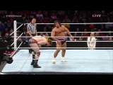 Sheamus vs rusev for the united state championship match 1132014