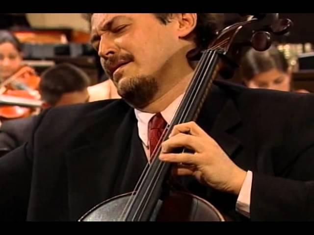 Glazunov Chant Du Menestrel Cello Wiliam Molina Cestari Cond Gustavo Dudamel