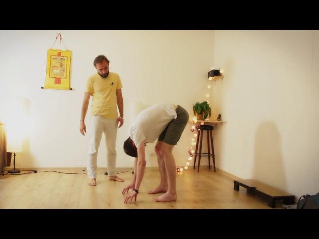 Упражнение заземление, телесно-ориентированная психотерапия. Антар Мандир