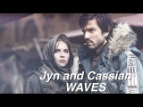 Jyn and Cassian Waves