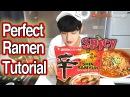 How to cook Korean ramen perfectly 신라면 맛있게 끓이는 방법