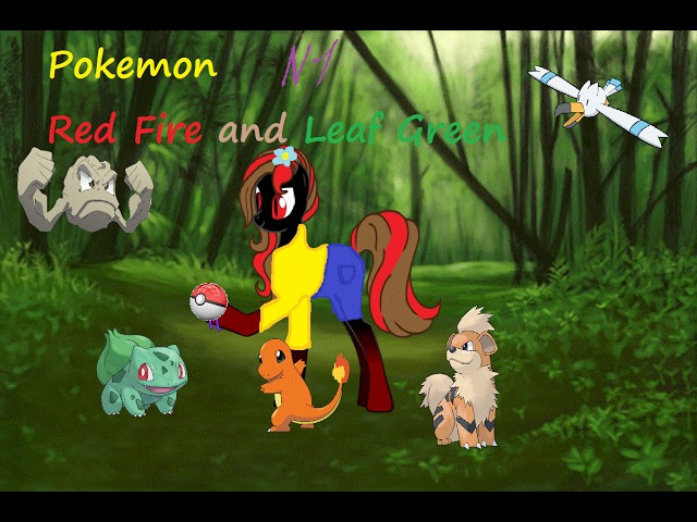 Pokemon Red Fire and Leaf Green 1 КАНАЛ ЖИВ!