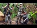 Chinese army sings Serbian song Garda Panteri