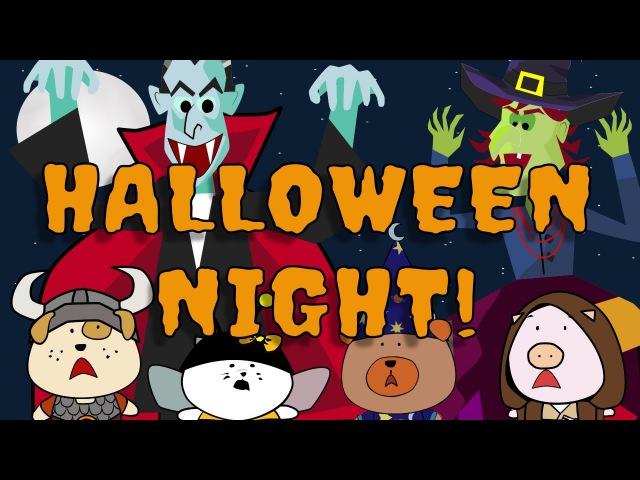 It's Halloween Tonight | Halloween Song for Kids | The Singing Walrus