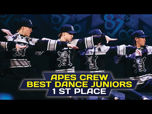 Apes Crew — 1st Place, Juniors @ RDF16 ✪ Project818 Russian Dance Festival 2016