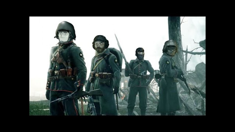 Друзья по Battlefield в стриме Battlefield 1 от PlayGround.ru!