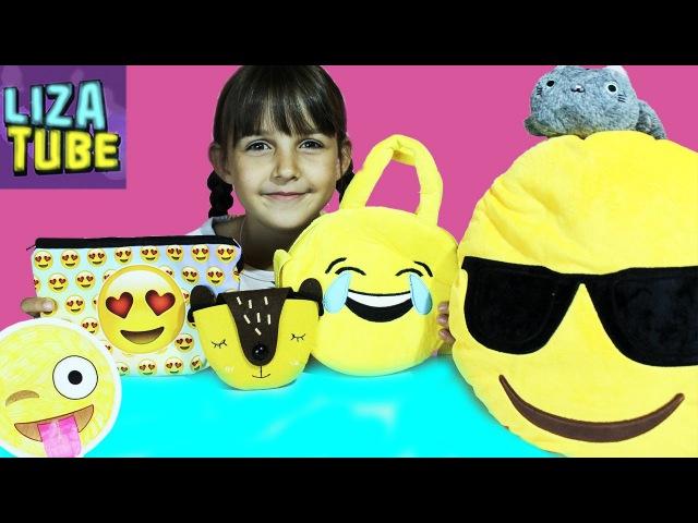 Покупки с сайта Newchic Смайлы и смайлики в посылке Готовлюсь к школе LizaTube