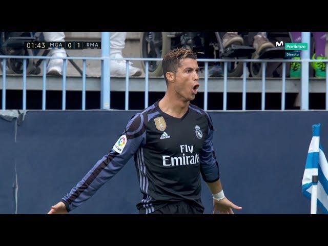 Cristiano Ronaldo vs Malaga HD Away (21/05/2017)