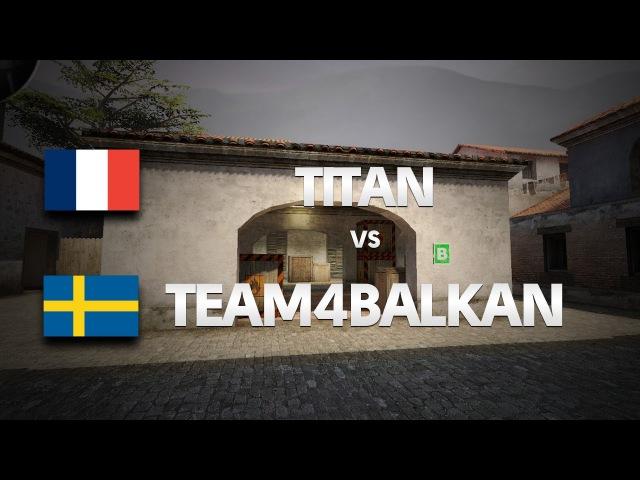 TITAN vs TEAM4BALKAN on de_mirage (1st map) @ HITBOX by ceh9
