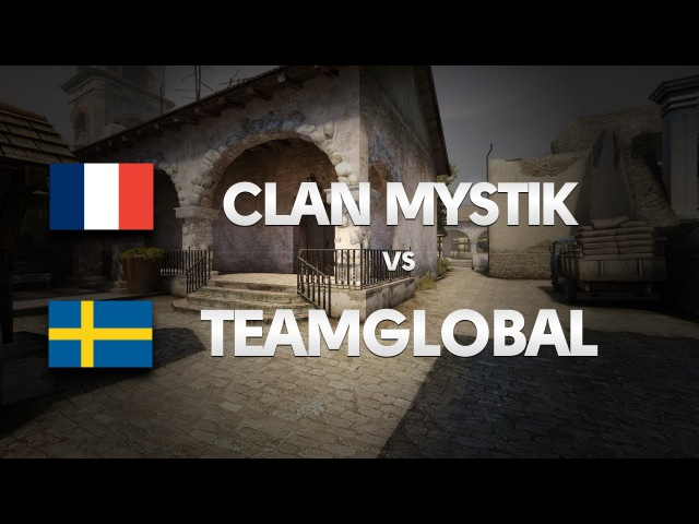 CLAN-MYSTIK vs TEAMGLOBAL on de_dust2 (1st map) @ HITBOX by ceh9